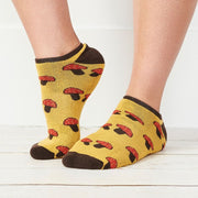 Organic Cotton Footie Sock - Mushroom lifestyle