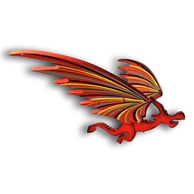 Flying Dragon Mobile - Red