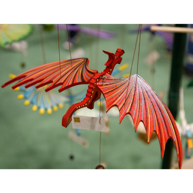 Flying Dragon Mobile -Red lifestyle