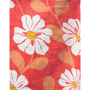 Ana Wrap Dress Cherry fabric detail