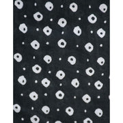 Artsy Traveler Dress Black Dots fabric detail