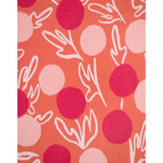 Summer Sonnet Dress Peach fabric detail