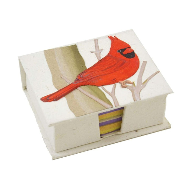 Mr. Ellie Pooh Note Box Cardinal Natural White