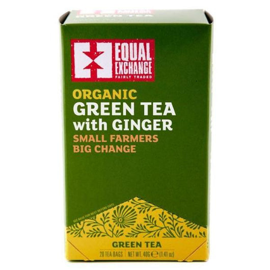 Organic Green Tea with Ginger by Equal Exchange
