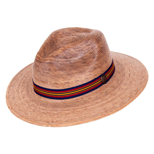Explorer Multi Band Palm Leaf Hat - angle view