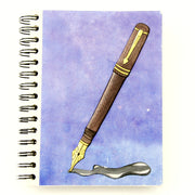 Mr. Ellie Pooh Fountain Pen Large Notebook Journal