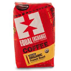 Equal Exchange Organic French Roast Coffee 10 oz Whole Bean