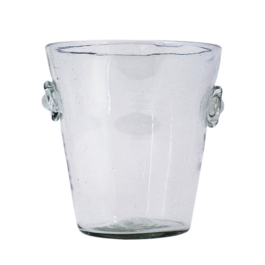 Fair Trade Hand Blown Glass Ice Bucket from Guatemala