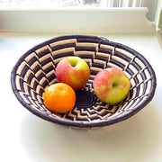 Decorative Sisal Fiber Fruit Basket - Monochrome with fruit