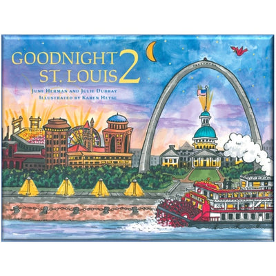 Goodnight St. Louis Hardcover Book Cover