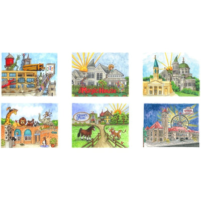 Goodnight St. Louis Note Cards Series 2 (set of 6)