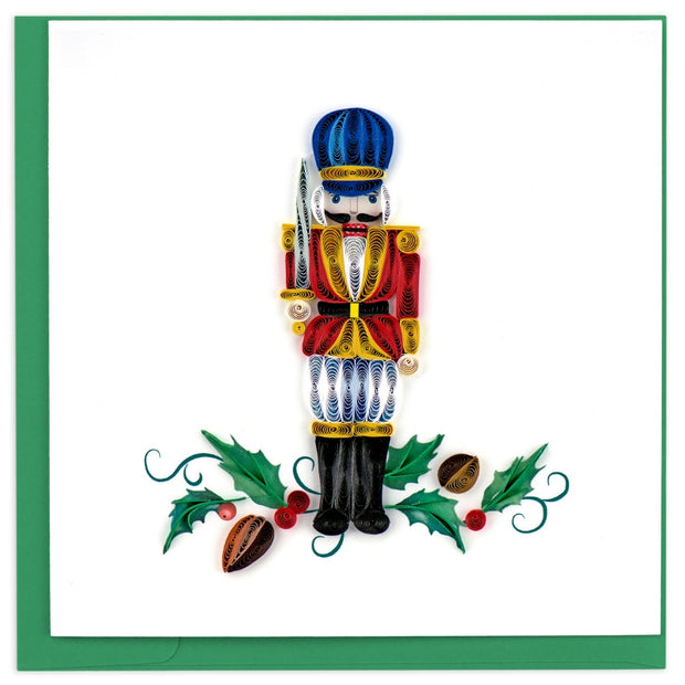Nutcracker Quilling Card