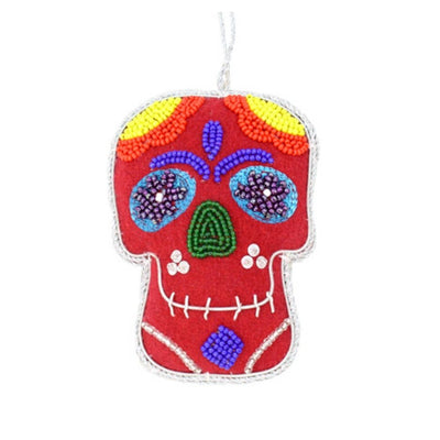 Calavera Sugar Skull Ornament