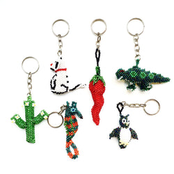 Handmade Beaded Keychains