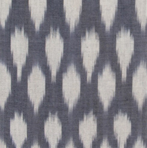 Ikat Graycie Wrap Dress fabric detail