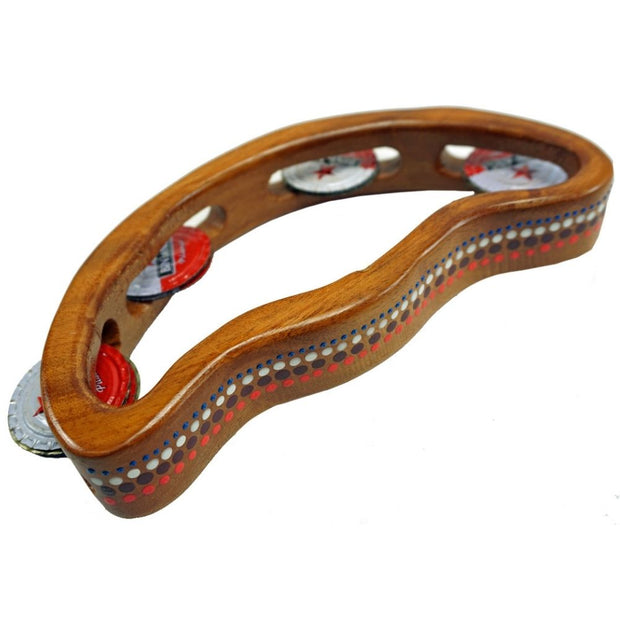 Indonesian Half Moon Tambourine