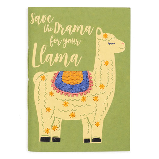 Sassy Hearts Llama Drama Journal