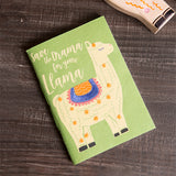 Sassy Hearts Llama Drama Journal lifestyle