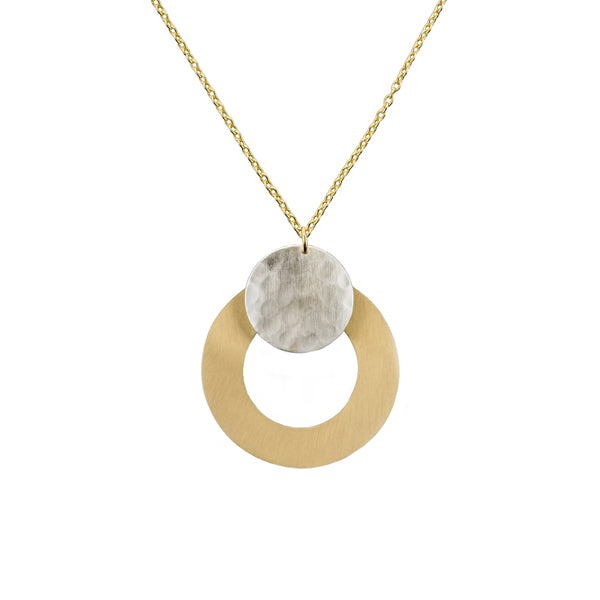 Vitana Deco Disc Necklace