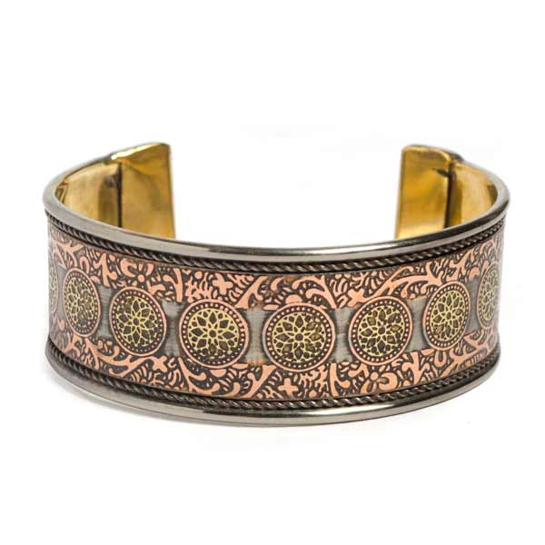 Rani of Jhansi Brass Cuff