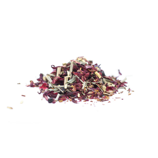 JustTea Loose Leaf Herbal Decaf Tea - Little Berry Hibiscus