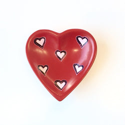4-inch Soapstone Heart Shaped Dish