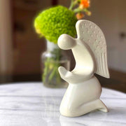 Praying Angel Soapstone Sculpture lifestyle