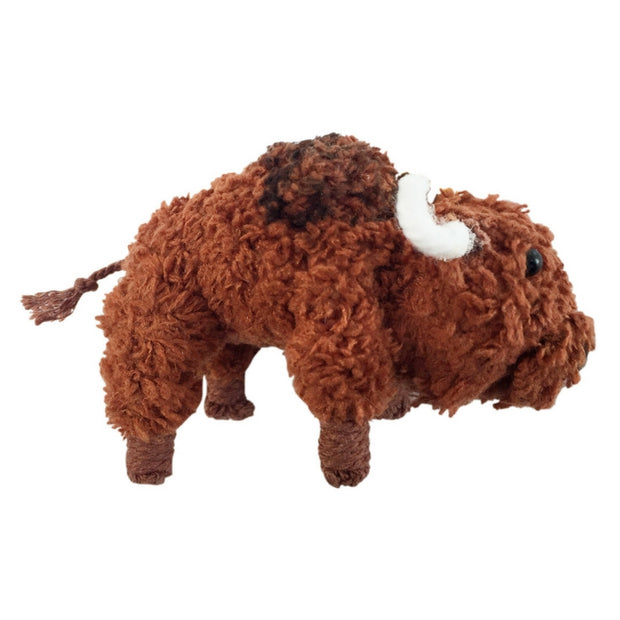 Kamibashi String Doll Keychain - Tyson the Bison