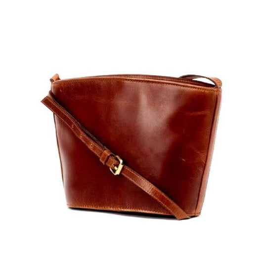 Kavita All Leather Crossbody Bag FRONT VIEW