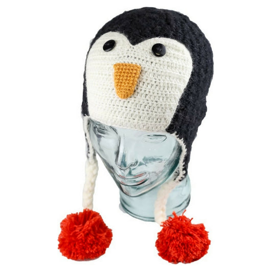 Kids Penguin Hat