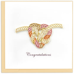 Tie the Knot Quilling Card