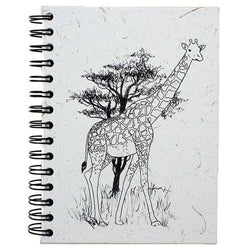Mr. Ellie Pooh Giraffe Sketch Large Notebook Journal