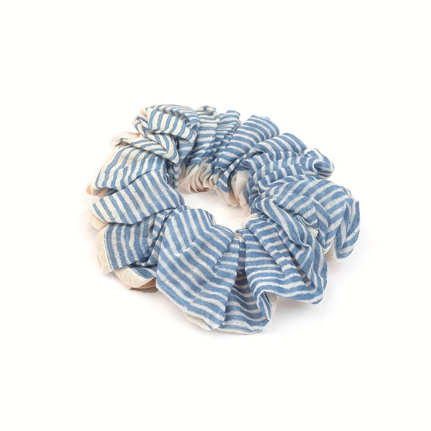 Silk Scrunchie - Earth and Sky side 2