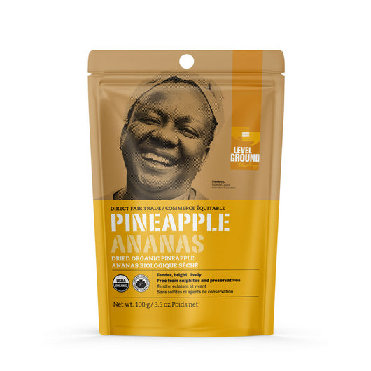 Dried Organic Pineapple 3.5oz
