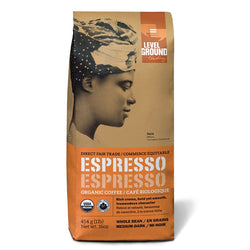 Level Ground Organic Espresso Craft Blend - Whole Bean 1lb