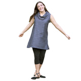 Organic Cotton Cowl Tunic MODEL by Maggies Organics