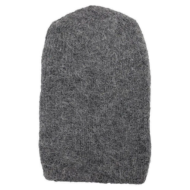 Milkshake Hand-knit Hat - Grey