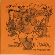 Mr. Ellie Pooh Large Coloring Book