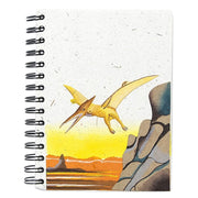Mr. Ellie Pooh Pterodactyl Large Notebook Journal