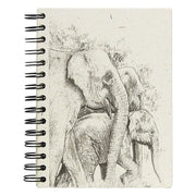 Mr. Ellie Pooh Elephant Sketch Large Notebook Journal