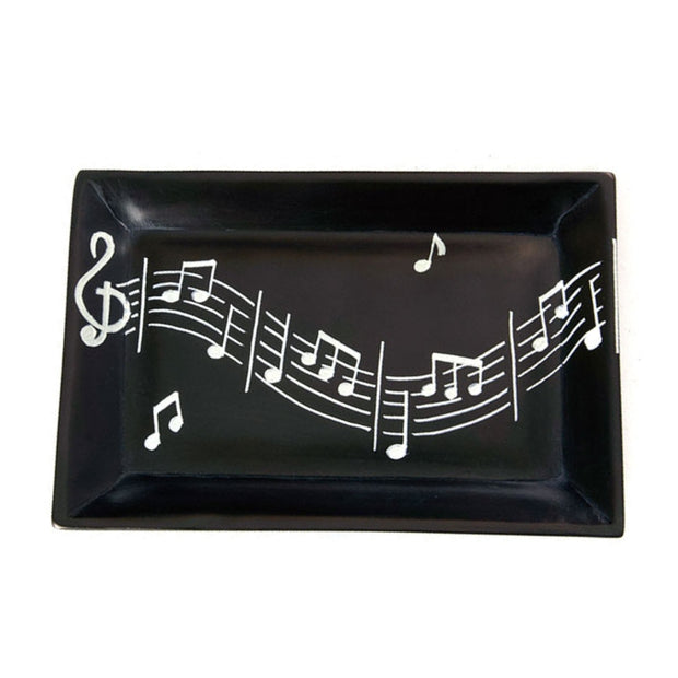 Melody Maker Rectangular Soapstone Dish