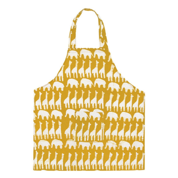 Organic Cotton Kids Apron - Sahara Mustard by Global Mamas