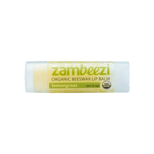 Organic Beeswax Lip Balm 0.15oz (4.25g) - Lemongrass