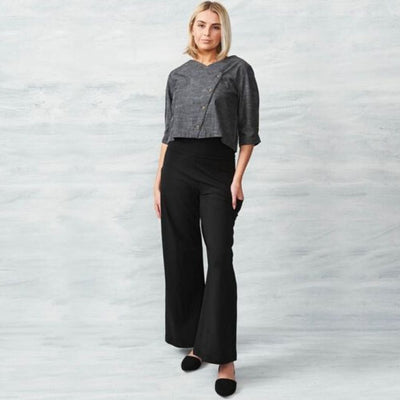 Organic Cotton Palazzo Pant front view
