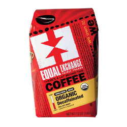 Equal Exchange Organic Decaf Coffee 12 oz Whole Bean