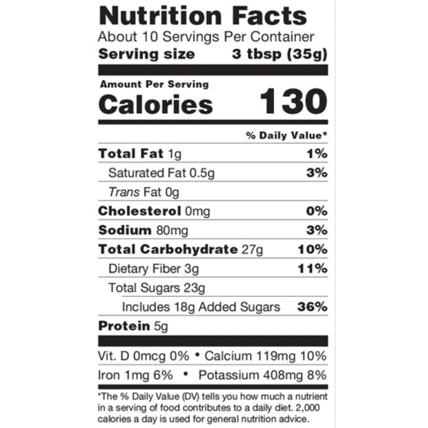 Organic Hot Cocoa Mix Nutrition Facts