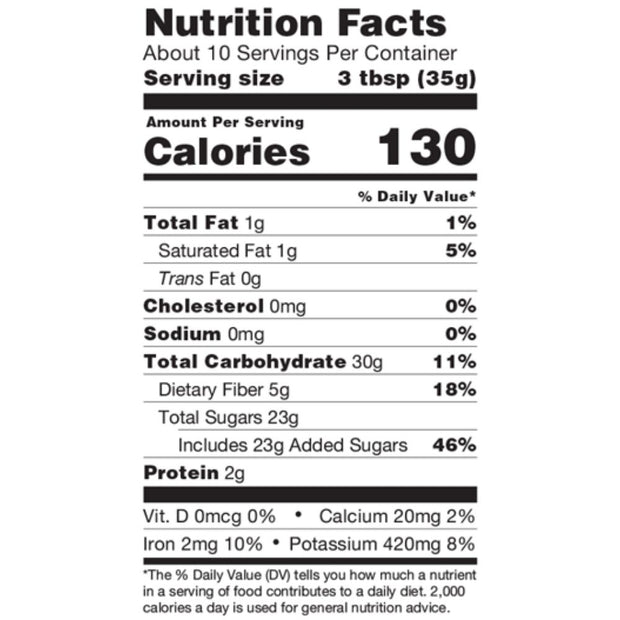 Organic Spicy Hot Cocoa Mix Nutrition Facts
