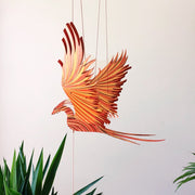 Flying Phoenix Bird Mobile