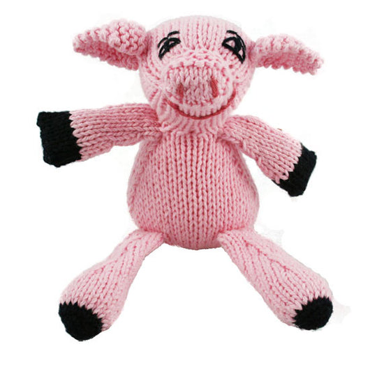 Pink piggy stuffed animal toy for kids of all ages