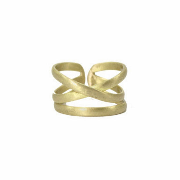 Linear X Adjustable Ring